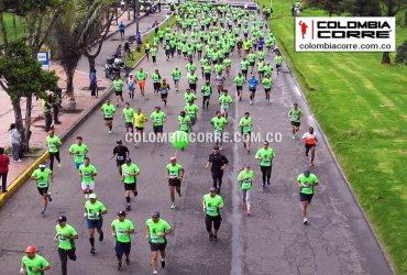 Más de 2500 corredores en la Carrera Verde en Bogotá