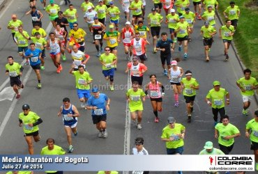 Lo que podrá ver y sentir en la Media Maratón de Bogotá 2018