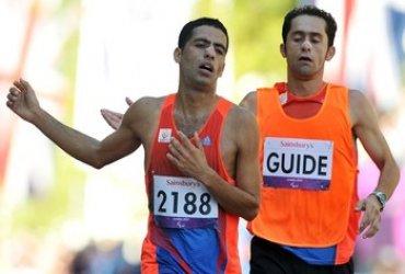 Elkin Serna gana medalla de plata en la Maratón Paralimpica de Londres