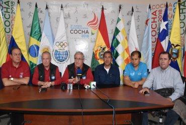 ODESUR garantiza la realización de los XI Juegos Suramericanos en Cochabamba