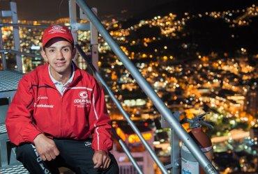 Frank Carreño, medalla de bronce en el Mundial de Ascenso Vertical