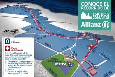 Se anuncia el recorrido oficial de la Allianz 15K
