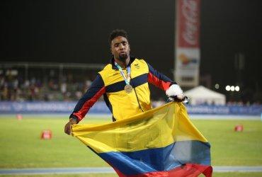 Mauricio Ortega le entrega el primer oro a Colombia en el atletismo en Barranquilla