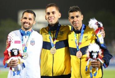 El atletismo colombiano brilló en Barranquilla 2018