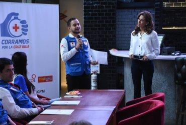 """Fue presentada la Carrera Atlética, Corramos por la Cruz Roja """"Es tiempo de ayudar"""", en Bogotá"""