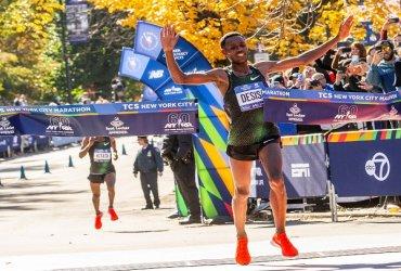 Lelisa Desisa se llevó el título de la maratón de Nueva York