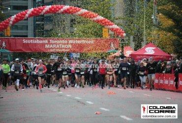 La maratón de Toronto 2018 con masiva asistencia