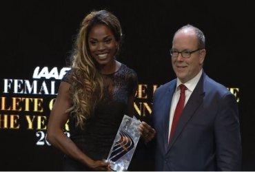 Caterine Ibargüen, Atleta del Año de la IAAF