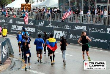 179 colombianos finalizaron la maratón de Miami 2019