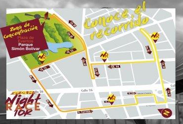 La Night Race 10K en Bogotá cambia de recorrido