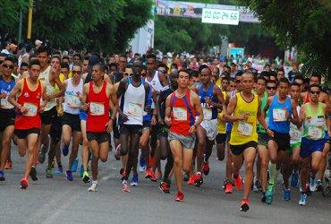 Atletas de Kenya, Brasil, Ecuador, Paraguay, Puerto Rico y Colombia, este sábado en Girardot