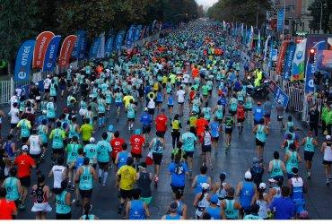 Fallece atleta en la maratón de Santiago