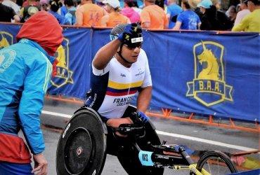 Atleta paralimpico colombiano buscará este domingo marca minima para Tokio 2020