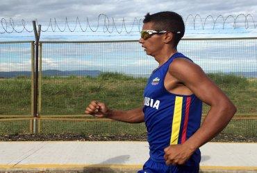 Jorge Ruíz, campeón panamericano de marcha 50 km