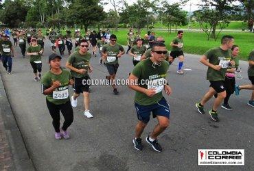 Más de 6000 atletas presentes en la Carrera de los Héroes en Bogotá