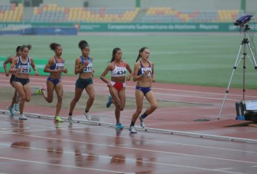 Cuatro medallas de oro, para Colombia, en inicio del Sudamericano de Atletismo