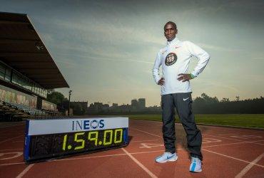 Eliud Kipchoge intentará de nuevo correr la maratón en menos de 2 horas