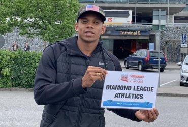 Bernardo Baloyes, presente en la Liga Diamante