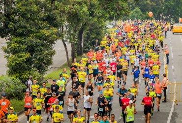 11.000 corredores celebraron los 18 años de la Media Maratón de Cali