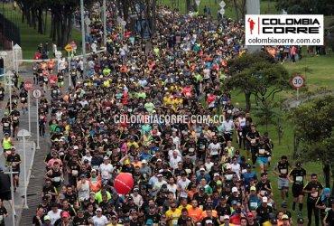 Miles de corredores en los 20 años de la Media Maratón de Bogotá