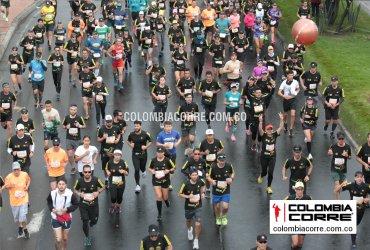 ¿Cuántos corredores finalizaron la media maratón de Bogotá 2019?