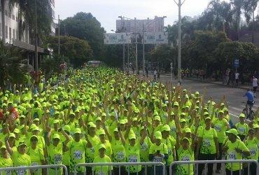 Correr es Vivir TENA Medellín, 10 años de recreación y calidad de vida para los adultos mayores.