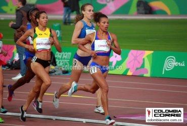 Muriel Coneo termina sexta en la final de los 1500 metros en Lima