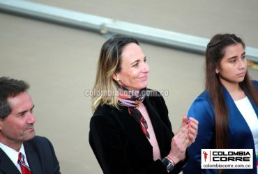 Ximena Restrepo presente en los Juegos Panamericanos de Lima