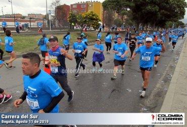Se realizó una nueva edición de la Carrera del Sur en Bogotá