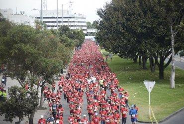 Cali y Bogotá hacen parte de la carrera más grande del Mundo