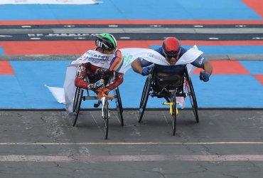 Francisco Sanclemente campeón de la maratón de México