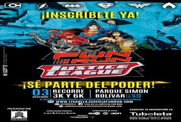 Llega la carrera temática de la Liga de la Justicia a Bogotá