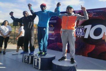 Gerard Giraldo rompe récord nacional en 10K