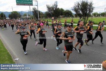 Con una masiva participación se llevo a cabo la Expedición Bodytech en Bogotá