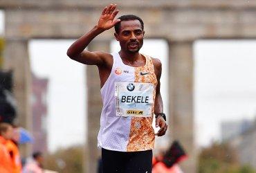 Kenenisa Bekele se queda con el título de la maratón de Berlín 2019