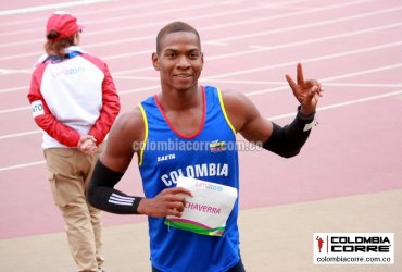 Yojan Chaverra clasifica a las semifinales de 110 m vallas en Doha