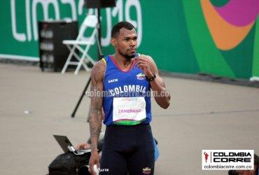 Anthony Zambrano clasifica a la final de los 400 metros en el mundial de atletismo en Doha