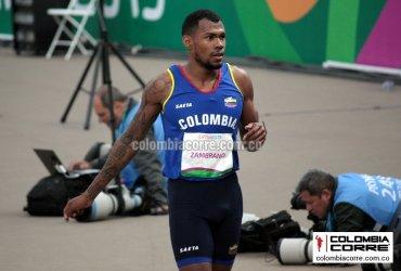 Anthony Zambrano logra una medalla de plata histórica en el mundial de atletismo en Doha