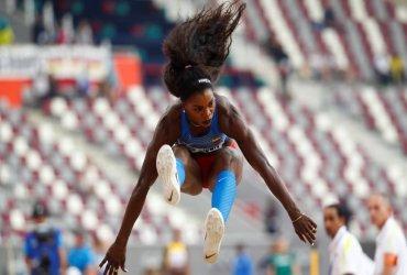 Caterine Ibargüen gana medalla de bronce en la final de salto triple en Doha