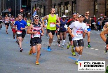 Más de 300 colombianos finalizaron la maratón de Chicago 2019