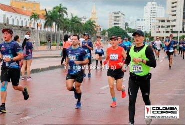 Con una masiva participación se realizó la Media Maratón del Mar en Cartagena