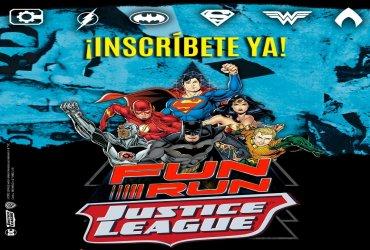 La carrera Liga de la Justicia Fun Run se realizará por primera vez en Colombia