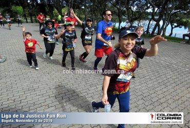 Se corrió la primera edición de la carrera de la Liga de la Justicia en Bogotá