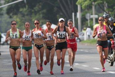 Lista de partida para la maratón de los Juegos Nacionales 2019