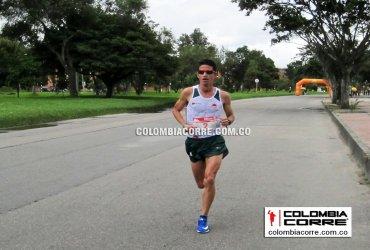 Jeisson Suarez y Sandra Rosas campeones de la maratón de los Juegos Nacionales 2019