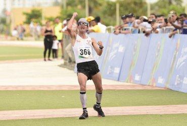 Medallistas de oro en Juegos Nacionales este domingo en la carrera Rio Cali