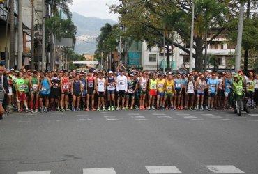 Trepadores a La Catedral primera carrera oficial de calle en Antioquia