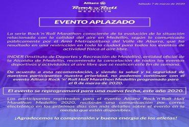 Se aplaza media maratón en Medellín por alerta de contaminación ambiental
