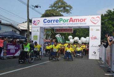 Por emergencia ambiental en Medellin aplazada Corre por Amor