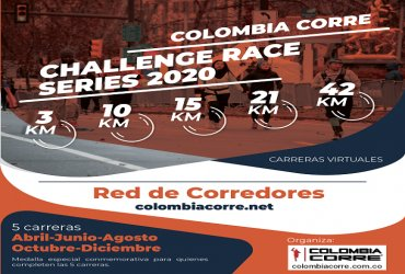 Calendario de carreras Challenge Race Series 2020
